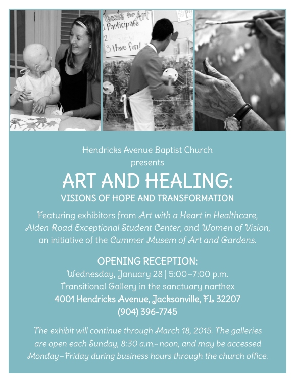 Art And Healing Invitation