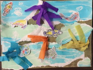 Koi Pond Art!
